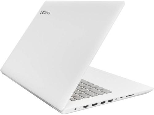 """Conheça o Notebook Lenovo Ideapad 320 80YF0008BR com processador Intel Core i3 (6006U) de 2 GHz e 3 MB cache, 4GB de memória RAM (DDR4 - 2133 MHz), HD de 500GB (5.400 RPM), Tela LED HD antirreflexo de 14"""" com resolução máxima de 1366 X 768, Placa de Vídeo integrada Intel HD Graphics 520, Conexões USB e HDMI, Wi-Fi 802.11 b/g/n/ac, não possui Drive de DVD, Bateria de 2 células (30 Wh), Peso aproximado de 1,7kg e Windows 10 64 bits."""