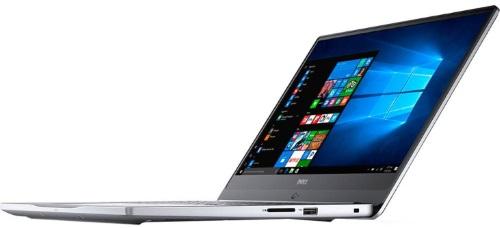 """Conheça o Notebook Dell Inspiron I15-7572-A10S com processador Intel Core i5 (8250U) de 1.6 GHz a 3.4 GHz e 6MB cache, 8GB de memória RAM (DDR4 2400 MHz), HD de 1 TB (5.400 RPM), Tela FULL HD de 15,6"""" IPS com Truelife e resolução máxima de 1920 x 1080, Placa de Vídeo integrada Intel UHD Graphics 620 e NVIDIA Geforce MX150 com 4GB de memória dedicada (GDDR5), Conexões USB e HDMI, Wi-Fi 802.11 ac, Não possui Drive de DVD, Teclado retroiluminado, Bateria de 3 células (42Wh), Peso aproximado de 2kg e Windows 10 64 bits."""