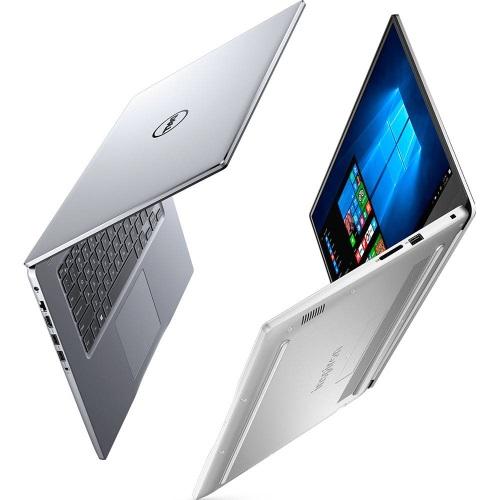 """Conheça o Notebook Dell Inspiron I15-7572-A20S com processador Intel Core i7 (8550U) de 1.8 GHz a 4 GHz e 8MB cache, 8GB de memória RAM (DDR4 2400MHz - expansível até 16GB), HD de 1TB (5.400RPM), Tela FULL HD IPS de 15,6"""" com Truelife e resolução máxima de 1920 x 1080, Placa de Vídeo integrada Intel UHD Graphics 620 e Geforce MX150 com 4GB de memória dedicada (GDDR5), Conexões USB e HDMI, Wi-Fi 802.11 ac, Não possui Drive de DVD, Bateria de 3 células (42Wh), Teclado retroiluminado, Peso aproximado de 2kg e Windows 10."""