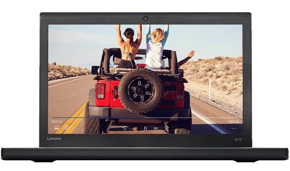 """Conheça o Notebook Lenovo ThinkPad X270 20HM002FBR com processador Intel Core i5 (7300U) de 2.6 GHz a 3.5 GHz e 3MB cache, 4GB de memória RAM (DDR4 2133MHz), HD de 500GB (5.400 RPM), Tela LED HD de 12,5"""" antirreflexiva com resolução máxima de 1366×768, Placa de Vídeo integrada Intel HD Graphics 620, Conexões USB e HDMI, Wi-Fi 802.11 b/g/n/ac, Camera HD (720p), Não possui Drive de DVD, Bateria de 3 células (23Wh), Leitor de impressões digitais e Chip de segurança, Peso aproximado de 1,36kg e Windows 10 Pro 64 bits."""