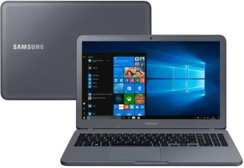 """Conheça o Notebook Samsung Expert X40 NP350XAA-XD1BR com processador Intel Core i5 (8250U) de 1.6 GHz a 3.4 GHz e 6MB cache, 8GB de memória RAM (DDR4 2133 MHz), HD de 1 TB (5.400 RPM), Tela LED HD de 15,6"""" com resolução máxima de 1366 x 768, Placa de Vídeo integrada Intel UHD Graphics 620 e NVIDIA Geforce MX110 com 2GB de memória dedicada (GDDR5), Conexões USB e HDMI, Webcam (1280x720) Wi-Fi 802.11 b/g/n/ac, Não possui Drive de DVD, Bateria de 3 células (43Wh), Peso aproximado de 1,95kg e Windows 10 64 bits."""