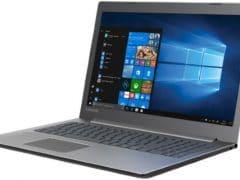 """O Notebook Lenovo Ideapad 330 81FE0001BR possui processador Intel Core i5 (8250U) de 1.6 GHz a 3.4 GHz e 6MB cache, 8GB de memória RAM (DDR4 2133 MHz - 4GB soldado + 4GB slot), HD de 1 TB (5.400 RPM), Tela LED HD de 15,6"""" Antirreflexo e resolução máxima de 1366 X 768, Placa de Vídeo integrada Intel UHD Graphics 620 e NVIDIA Geforce MX150 com 2GB de memória dedicada (GDDR5), Conexões USB e HDMI, Wi-Fi 802.11 b/g/n/ac, Webcam (720p), Não possui Drive de DVD, Bateria de 2 células (30 Wh), Peso aproximado de 2kg e Windows 10 64 bits."""