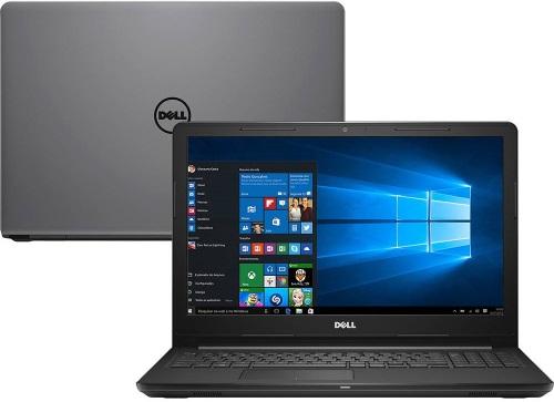 """Conheça o Notebook Inspiron Dell I15-3567-A50C com processador Intel Core i7 (7500U) de 2.7 GHz a 3.5 GHz e 4 MB cache, 8GB de memória RAM (DDR4 2400 MHz - Expansível até 16GB), HD de 2 TB (5.400 RPM), Tela LED HD antirreflexo de 15,6"""" com resolução máxima de 1366 X 768, Placa de Vídeo integrada Intel HD Graphics 620, Conexões USB e HDMI, Wi-Fi 802.11 b/g/n, Não possui Drive de DVD, Bateria de 4 células (40WHr), Peso aproximado de 2kg e Windows 10."""
