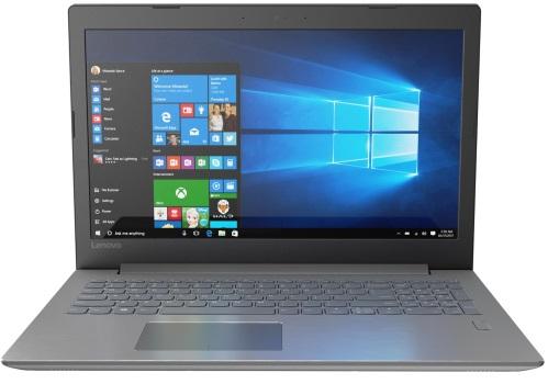 """Conheça o Notebook Lenovo Ideapad 320 81G30000BR com processador Intel Core i7 (8550U) de 1.8 GHz a 4 GHz e 8MB cache, 8GB de memória RAM (DDR4 2133 MHz - 4GB soldado + 4GB slot), HD de 1 TB (5.400 RPM), Tela LED FULL HD de 15,6"""" Antirreflexo e resolução máxima de 1920 x 1080, Placa de Vídeo integrada Intel UHD Graphics 620 e NVIDIA Geforce MX150 com 2GB de memória dedicada (GDDR5), Conexões USB e HDMI, Wi-Fi 802.11 b/g/n/ac, Webcam (720p), Não possui Drive de DVD, Bateria de 2 células (30 Wh), Peso aproximado de 2kg e Windows 10 64 bits."""