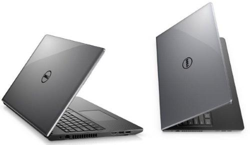 """Conheça o Notebook Dell Inspiron i15-3576-M70C com processador Intel Core i7 (8550U) de 1.8 GHz a 4 GHz e 8MB cache, 8GB de memória RAM (DDR4 2400 MHz), HD de 2 TB (5.400 RPM), Tela LED HD de 15,6"""" Antirreflexo e resolução máxima de 1366 x 768, Placa de Vídeo integrada Intel UHD Graphics 620 e AMD Radeon 520 com 2GB de memória dedicada (GDDR5), Conexões USB e HDMI, Wi-Fi 802.11 b/g/n, Webcam (720p), Não possui Drive de DVD, Bateria de 4 células (40 Wh), Peso aproximado de 2,15kg e Windows 10 64 bits."""
