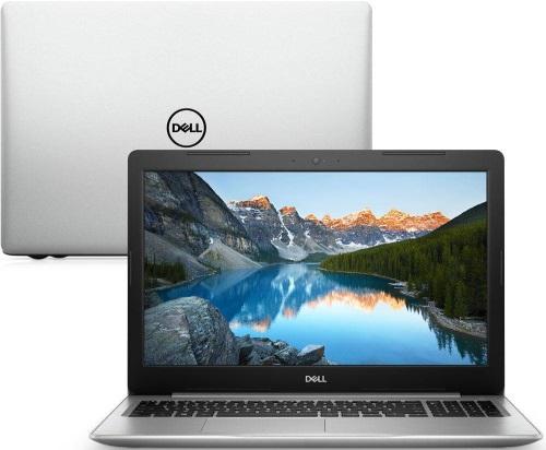 """Conheça o Notebook Dell Inspiron i15-5570-U11C com processador Intel Core i5 (8250U) de 1.6 GHz a 3.4 GHz e 6MB cache, 8GB de memória RAM (DDR4 2400 MHz - expansível até 32GB), HD de 1 TB (5.400 RPM), Tela LED HD de 15,6"""" antirreflexiva com resolução máxima de 1366 x 768, Placa de Vídeo integrada Intel UHD Graphics 620, Conexões USB e HDMI, Webcam (720p) Wi-Fi 802.11 b/g/n/ac, Não possui Drive de DVD, Bateria de 3 células (43Wh), Peso aproximado de 2,02kg e Linux Ubuntu 16.04."""