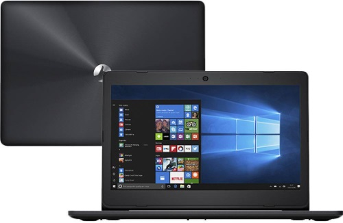 """Conheça o Notebook Positivo Stilo XC7660 com processador Intel Core i3 (6006U) de 2 GHz e 3 MB cache, 4GB de memória RAM (DDR3L - expansível até 8GB), HD de 1 TB (5.400 RPM), Tela LED HD de 14"""" com resolução máxima de 1366 X 768, Placa de Vídeo integrada Intel HD Graphics 520, Conexões USB e HDMI, Wi-Fi 802.11 b/g/n, Não possui Drive de DVD, Bateria de 2 células (3000mAh), Peso aproximado de 1,66kg e Windows 10."""