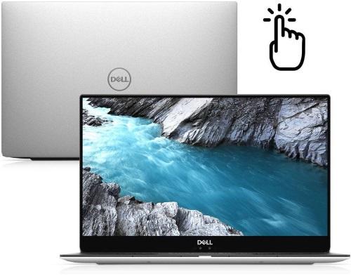 """Conheça o Notebook Ultraportátil Dell XPS-9370-M20S com processador Intel Core i7 (8550U) de 1.8 GHz a 4 GHz e 8MB cache, 8GB de memória RAM (LPDDR3 1866 MHz), SSD de 256GB, Tela IPS FullHD de 13,3"""" Antirreflexiva com resolução máxima de 3840 x 2160, Placa de Vídeo integrada Intel UHD Graphics 620, Conexões USB e HDMI, Wi-Fi 802.11 b/g/n, Webcam (720p), Não possui Drive de DVD, Bateria de 4 células (52 Wh), Peso aproximado de 1,21kg e Windows 10 64 bits."""