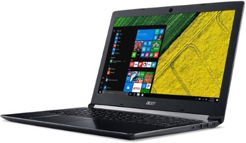 """Conheça o Notebook Acer Aspire 5 A515-51G-71CN com processador Intel Core i7 (7500UU) de 2.7 GHz a 3.5 GHz e 4MB cache, 8GB de memória RAM (DDR4 - expansível até 20GB), HD de 2 TB (5.400 RPM), Tela LED HD de 15,6"""" com resolução máxima de 1366 x 768, Placa de Vídeo integrada Intel HD Graphics 620 e NVIDIA Geforce 940MX com 2GB de memória dedicada (GDDR5), Conexões USB e HDMI, Webcam (1280x720) Wi-Fi 802.11 b/g/n/ac, Não possui Drive de DVD, Bateria de 4 células, Peso aproximado de 2,2kg e Windows 10 64 bits."""