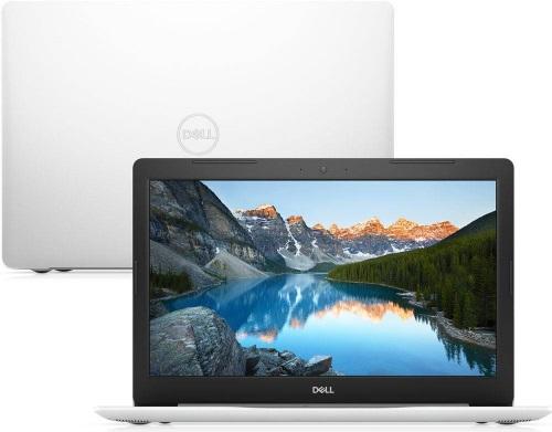"""Conheça o Notebook Dell Inspiron i15-5570-M31B com processador Intel Core i7 (8550U) de 1.8 GHz a 4 GHz e 8MB cache, 8GB de memória RAM (DDR4 2400 MHz), HD de 1 TB (5.400 RPM), Tela LED Full HD de 15,6"""" Antirreflexo e resolução máxima de 1920 x 1080, Placa de Vídeo integrada Intel UHD Graphics 620 e AMD Radeon 530 com 4GB de memória dedicada (GDDR5), Conexões USB e HDMI, Wi-Fi 802.11 b/g/n/ac, Webcam (720p), Não possui Drive de DVD, Bateria de 3 células (42 Wh), Peso aproximado de 2,02kg e Windows 10 64 bits."""