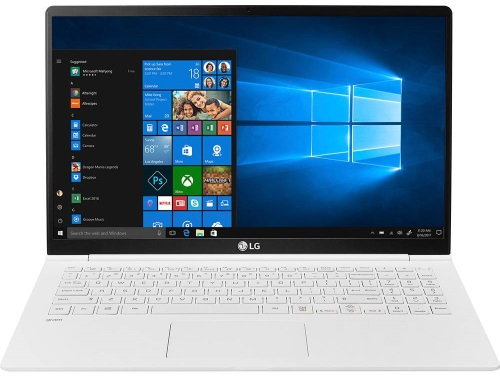"""Conheça o Notebook LG Gram 15Z980-G.BH71P1 com processador Intel Core i7 (8550U) de 1.8 GHz a 4 GHz e 8MB cache, 8GB de memória RAM (DDR4 2400 MHz), SSD de 256GB, Tela IPS FullHD de 15,6"""" com resolução máxima de 1920 x 1080, Placa de Vídeo integrada Intel UHD Graphics 620, Conexões USB e HDMI, Wi-Fi 802.11 b/g/n/ac, Webcam (720p), Não possui Drive de DVD, Bateria de 72Wh, Teclado retroiluminado, Peso aproximado de 1.095kg e Windows 10 64 bits."""