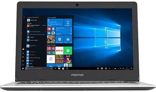 """Conheça o Notebook Positivo Motion I34500Ai-15 com processador Intel Core i3 (6006U) de 2 GHz e 3 MB cache, 4GB de memória RAM, HD de 500 GB (5.400 RPM), Tela LED HD de 15,6"""" com resolução máxima de 1366 X 768, Placa de Vídeo integrada Intel HD Graphics 520, Conexões USB e HDMI, Wi-Fi 802.11 b/g/n/ac, Webcam com microfone, Não possui Drive de DVD, Peso aproximado de 2,1kg e Sistema Operacional Linux."""