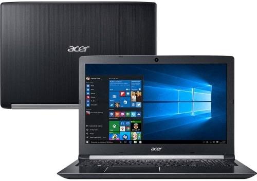 """O Notebook Acer Aspire A515-51G-C97B possui processador Intel Core i5 (8250U) de 1.6 GHz a 3.4 GHz e 6MB cache, 8GB de memória RAM (DDR4 - Expansível até 20GB), HD de 1 TB (5.400 RPM), Tela LED HD de 15,6"""" com resolução máxima de 1366 x 768, Placa de Vídeo integrada Intel UHD Graphics 620 e NVIDIA Geforce MX130 com 2GB de memória dedicada (GDDR5), Conexões USB e HDMI, Webcam (1280x720) Wi-Fi 802.11 b/g/n/ac, Não possui Drive de DVD, Bateria de 4 células (3220mAh), Peso aproximado de 2,2kg e Windows 10 64 bits."""