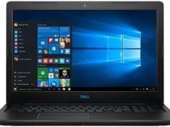 """O Notebook Dell Gaming G3 3579-A20P possui processador Intel Core i7 (8750H) de 2.2 GHz a 4.1 GHz e 9MB cache, 8GB de memória RAM (DDR4 2666 MHz - expansível até 32GB), HD de 1 TB (5.400 RPM), Tela IPS Full HD de 15,6"""" Antirreflexo e resolução máxima de 1920 x 1080, Placa de Vídeo integrada Intel UHD Graphics 630 e NVIDIA Geforce GTX 1050Ti com 4GB de memória dedicada (GDDR5), Conexões USB e HDMI, Wi-Fi 802.11 b/g/n/ac (trabalha na frequencia 2.4 GHz e 5 GHz), Webcam (720p), Não possui Drive de DVD, Bateria integrada de 4 células (56 Wh), Peso aproximado de 2,53kg e Windows 10 64 bits."""