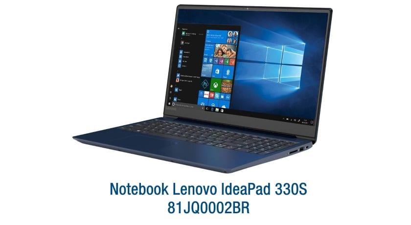 Notebook Lenovo IdeaPad 330S 81JQ0002BR
