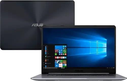 """O Notebook Asus VivoBook X510UR-BQ378T possui processador Intel Core i5 (8250U) de 1.6 GHz a 3.4 GHz e 6MB cache, 4GB de memória RAM (DDR4 2133 MHz - 4GB offboard), HD de 1 TB (5.400 RPM), Tela LED Full HD de 15,6"""" e resolução máxima de 1920 x 1080, Placa de Vídeo integrada Intel UHD Graphics 620 e NVIDIA Geforce 930MX com 2GB de memória dedicada (GDDR5), Conexões USB e HDMI, Wi-Fi 802.11 b/g/n/ac, Webcam (VGA), Não possui Drive de DVD, Bateria de 3 células (4000mAh), Peso aproximado de 1,7kg e Windows 10 64 bits."""