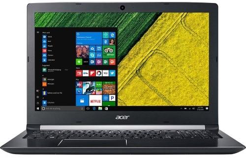"""O Notebook Acer A515-51-75RV possui processador Intel Core i7 (7500U) de 2.7 GHz a 3.5 GHz e 4 MB cache, 8GB de memória RAM (DDR4 sendo 4GB soldada + 4GB slot e expansível até 20GB), HD de 1 TB (5.400 RPM), Tela LED HD de 15,6"""" com resolução máxima de 1366 X 768, Placa de Vídeo integrada Intel HD Graphics 620, Conexões USB e HDMI, Wi-Fi 802.11 b/g/n/ac, Não possui Drive de DVD, Bateria de 4 células (48WHr), Peso aproximado de 2,2kg e Windows 10."""