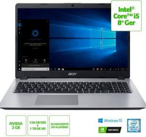 Acer Aspire 5 A515-52G-50NT NX.HD9AL.003 | I5 8265U e MX130 1