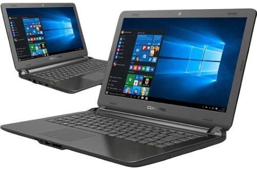 """O Notebook Compaq Presario HP CQ31 possui processador Intel Celeron Dual Core (N3060) de 1.6 GHz a 2.48 GHz e 2 MB cache, 4GB de memória RAM (DDR3 - expansível até 8GB), HD de 500GB (5.400 RPM), Tela LED HD de 14"""" com resolução máxima de 1366 x 768, Placa de Vídeo integrada Intel HD Graphics, Conexões USB e HDMI, Wi-Fi 802.11 b/g/n, Não possui Drive de DVD, Bateria de 2 células, Peso aproximado de 1,8kg e Sistema Operacional Windows 10 64 bits."""