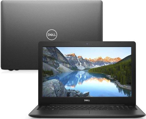 """O Notebook Dell Inspiron i15-3583-M20P possui processador Intel Core i5 (8265U) de 1.6 GHz a 3.9 GHz e 6MB cache, 8GB de memória RAM (DDR4 2666MHz), HD de 2 TB (5.400 RPM), Tela LED HD de 15,6"""" antirreflexiva e resolução máxima de 1366 x 768, Placa de Vídeo integrada Intel UHD Graphics 620 e AMD Radeon 520 com 2GB de memória dedicada (GDDR5), Conexões USB e HDMI, Wi-Fi 802.11 b/g/n/ac, Webcam (720p), Não possui Drive de DVD, Bateria de 3 células (42Wh), Peso aproximado de 2,03kg e Windows 10 64 bits."""
