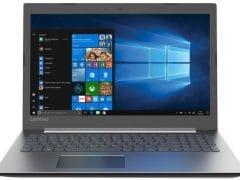 """O Notebook Lenovo Ideapad 330-15IKB 81FE0005BR possui processador Intel Core i3 (7020U) de 2.3 GHz e 3 MB cache, 4GB de memória RAM (DDR4 2133 MHz - 4GB soldado sendo expansível até 20GB), HD de 1 TB (5.400 RPM), Tela LED Full HD de 15,6"""" antirreflexiva com resolução máxima de 1920 x 1080, Placa de Vídeo integrada Intel HD Graphics 620, Conexões USB e HDMI, Wi-Fi 802.11 b/g/n/ac, Não possui Drive de DVD, Webcam (720p), Bateria de 2 células(30Wh), Peso aproximado de 2,06kg, abertura da tela com até 180º e Sistema Operacional Windows 10 64 bits."""