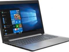 """Conheça o Notebook Lenovo Ideapad 330 com processador Intel Core i7 (8550U) de 1.8 GHz a 4 GHz e 8MB cache, 8GB de memória RAM (DDR4 2133 MHz - 4GB soldado + 4GB slot), HD de 1 TB (5.400 RPM), Tela LED FULL HD de 15,6"""" Antirreflexo e resolução máxima de 1920 x 1080, Placa de Vídeo integrada Intel UHD Graphics 620 e NVIDIA Geforce MX150 com 2GB de memória dedicada (GDDR5), Conexões USB e HDMI, Wi-Fi 802.11 b/g/n/ac, Webcam (720p), Não possui Drive de DVD, Bateria de 2 células (30 Wh), Peso aproximado de 2kg e Windows 10 64 bits."""