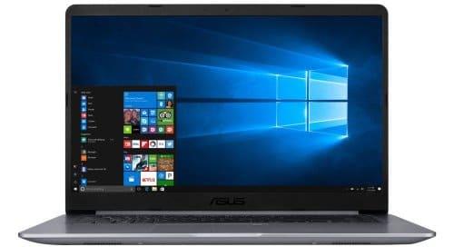 """O Notebook Asus Vivobook X510UR-BQ291T possui processador Intel Core i5 (8250U) de 1.6 GHz a 3.4 GHz e 6MB cache, 8GB de memória RAM (DDR4 2133 MHz - 8GB slot - expansível até 16GB), HD de 1 TB (5.400 RPM), Tela LED FULL HD de 15,6"""" e resolução máxima de 1920 X 1080, Placa de Vídeo integrada Intel UHD Graphics 620 e NVIDIA Geforce 930MX com 2GB de memória dedicada (GDDR5), Conexões USB e HDMI, Wi-Fi 802.11 b/g/n/ac, Webcam, Não possui Drive de DVD, Bateria de 3 células (4000mAh), Peso aproximado de 1,7kg e Windows 10 64 bits."""
