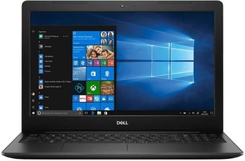 O Notebook Dell Inspiron I15-3583-A20P possui processador Intel Core i5 (8265U) de 1.6 GHz a 3.9 GHz e 6MB cache, 8GB de memória RAM (DDR4 - expansível até 16GB), HD de 2 TB (5.400 RPM), Tela LED HD de antirreflexiva com resolução máxima de 1366 x 768, Placa de Vídeo integrada Intel UHD Graphics 620 e AMD Radeon 520 com 2GB de memória dedicada (GDDR5), Conexões USB e HDMI, Wi-Fi 802.11 b/g/n/ac, Webcam (720p), Não possui Drive de DVD, Bateria de 3 células (42Wh), Teclado numérico e resistente a derramamento de líquidos, Peso aproximado de 2,03kg e Windows 10 64 bits.