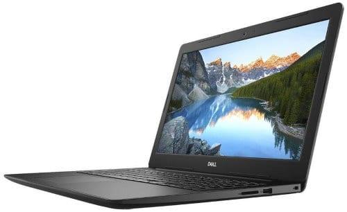 """O Notebook Dell Inspiron i15-3583-U30P possui processador Intel Core i7 (8565U) de 1.8 GHz a 4.6 GHz e 8MB cache, 8GB de memória RAM (DDR4 2666Mhz mas com Velocidade máxima de 2400MHz devido ao barramento do processador), HD de 2 TB (5.400 RPM), Tela LED HD de 15,6"""" antirreflexiva com resolução máxima de 1366 x 768, Placa de Vídeo integrada Intel UHD Graphics 620 e AMD Radeon com 2GB de memória dedicada (GDDR5), Conexões USB e HDMI, Wi-Fi 802.11 b/g/n/ac, Webcam (720p), Não possui Drive de DVD, Bateria de 3 células (42Wh), Teclado retroiluminado alfanumérico e resistente a derramamento de líquidos, Peso aproximado de 2,03kg e Linux Ubuntu 16.04."""