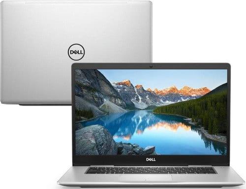 O Notebook Dell Inspiron i15-7580-M10S possui processador Intel Core i5 (8265U - 8ª geração) de 1.6 GHz a 3.9 GHz e 6MB cache, 8GB de memória RAM (DDR4 2666Mhz mas com Velocidade máxima de 2400MHz devido ao barramento do processador - possui 2 slots e permite expansão até 32GB), HD de 1 TB (5.400 RPM), Tela IPS Full HD de antirreflexiva com resolução máxima de 1920 x 1080 e bordas estreitas, Placa de Vídeo integrada Intel UHD Graphics 620 e NVIDIA Geforce MX150 com 2GB de memória dedicada (GDDR5), Conexões USB e HDMI, Wi-Fi 802.11 b/g/n/ac, Webcam (720p), Não possui Drive de DVD, Bateria de 3 células (42Wh), Teclado retroiluminado alfanumérico e resistente a derramamento de líquidos, Peso aproximado de 1,87kg e Windows 10 64 bits.
