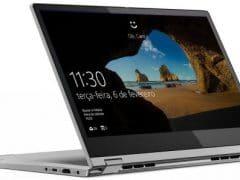 """O Notebook Lenovo Ideapad C340 81RL0004BR possui processador Intel Core i5 (8265U) de 1.6 GHz a 3.9 GHz e 6MB cache, 4GB de memória RAM (DDR4 2400 MHz - 4GB soldado permitindo expansão até 20GB), SSD 128GB PCIe NVMe, Tela LED HD de 14"""" Multitouch com resolução máxima de 1366 x 768, Placa de Vídeo integrada Intel UHD Graphics 620, Conexões USB e HDMI, Wi-Fi 802.11 b/g/n/ac, Não possui Drive de DVD, Bateria de 4 células(45Wh), Peso aproximado de 1,65kg e Sistema Operacional Windows 10 64 bits."""