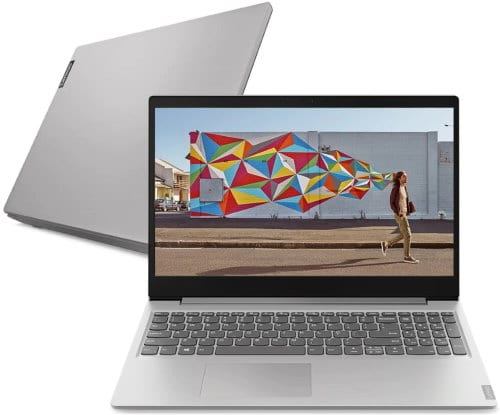 """O Notebook Lenovo Ideapad S145 81S90000BR possui processador Intel Core i7 (8565U) de 1.8 GHz a 4.6 GHz e 8MB cache, 12GB de memória RAM (DDR4 2400 - 4GB soldado + 8GB slot), SSD de 256, Tela LED Full HD de 15,6"""" antirreflexiva e resolução máxima de 1920 x 1080, Placa de Vídeo integrada Intel UHD Graphics 620 e NVIDIA Geforce MX110 com 2GB de memória dedicada (GDDR5), Conexões USB e HDMI, Wi-Fi 802.11 b/g/n/ac, Webcam (0.3 MP), Não possui Drive de DVD, Bateria de 2 células (35Wh), Peso aproximado de 1,85kg e Windows 10 64 bits."""