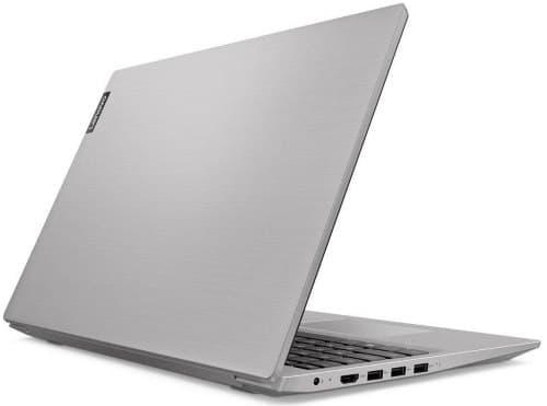 """O Notebook Lenovo Ideapad S145 81S90001BR possui processador Intel Core i7 (8565U) de 1.8 GHz a 4.6 GHz e 8MB cache, 8GB de memória RAM (DDR4 2400 - 4GB soldado + 4GB slot), HD de 1 TB (5.400 RPM), Tela LED Full HD de 15,6"""" antirreflexiva e resolução máxima de 1920 x 1080, Placa de Vídeo integrada Intel UHD Graphics 620, Conexões USB e HDMI, Wi-Fi 802.11 b/g/n/ac, Webcam (0.3 MP), Não possui Drive de DVD, Bateria de 2 células (30Wh), Peso aproximado de 1,85kg e Windows 10 64 bits."""