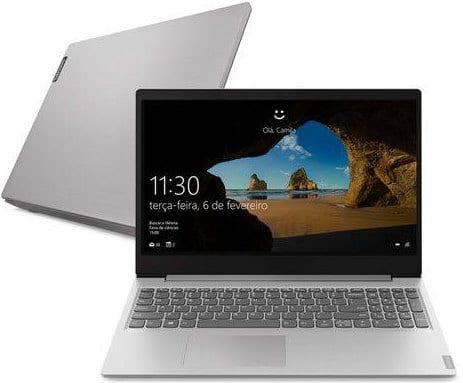 O Notebook Lenovo Ideapad S145 81S90005BR possui processador Intel Core i5 (8265U) de 1.6 GHz a 3.9 GHz e 6MB cache, 8GB de memória RAM (DDR4 2400 - 4GB soldado + 4GB slot), HD de 1 TB (5.400 RPM), Tela LED HD de antirreflexiva e resolução máxima de 1366 x 768, Placa de Vídeo integrada Intel UHD Graphics 620, Conexões USB e HDMI, Wi-Fi 802.11 b/g/n/ac, Webcam, Não possui Drive de DVD, Bateria de 2 células (30Wh), Peso aproximado de 1,85kg e Windows 10 64 bits.