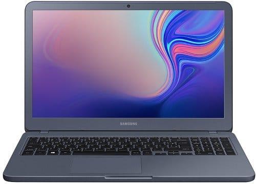 O Notebook Samsung Expert X60 NP350XBE-XF5BR possui processador Intel Core i7 (8565U) de 1.8 GHz a 4.6 GHz e 8MB cache, 16GB de memória RAM (DDR4 - 8 GB integrados x 1 + 8 GB x 1 - sendo 1 SODIMM), HD de 1 TB (5.400 RPM) + 128GB de unidade de estado sólido, Tela LED Full HD de antirreflexiva e resolução máxima de 1920 x 1080, Placa de Vídeo integrada Intel UHD Graphics 620 e NVIDIA Geforce MX250 com 2GB de memória dedicada (GDDR5), Conexões USB e HDMI, Wi-Fi 802.11 b/g/n/ac, Webcam, Não possui Drive de DVD, Bateria de 43Wh, Peso aproximado de 1,97kg e Windows 10 64 bits.