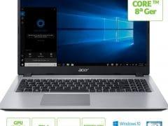 """O Notebook Acer Aspire 5 A515-52G-78HE NX.HD9AL.004 possui processador Intel Core i7 (8565U) de 1.8 GHz a 4.6 GHz e 8MB cache, 8GB de memória RAM (DDR4 2400MHz - expansível até 32GB sendo 2 slots soDIMM), SSD de 128GB M.2 + HD de 1 TB (5.400 RPM), Tela LED HD de 15,6"""" com borda fina e resolução máxima de 1366 x 768, Placa de Vídeo integrada Intel UHD Graphics 620 e NVIDIA Geforce MX130 com 2GB de memória dedicada (GDDR5), Conexões USB e HDMI, Wi-Fi 802.11 b/g/n/ac, Webcam (720p), Não possui Drive de DVD, Bateria de 3 células, Slot M.2 2280 compatível com SSD SATA III até 512 GB (slot ocupado pelo SSD), Peso aproximado de 1,8kg e Windows 10 64 bits."""
