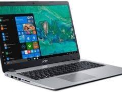 """O Notebook Acer Aspire 5 A515-52G-79H1 NX.HD9AL.005 possui processador Intel Core i7 (8565U) de 1.8 GHz a 4.6 GHz e 8MB cache, 8GB de memória RAM (DDR4 2400MHz - expansível até 32GB sendo 2 slots soDIMM), SSD de 128GB M.2 + HD de 1 TB (5.400 RPM), Tela LED HD de 15,6"""" e resolução máxima de 1366 x 768, Placa de Vídeo integrada Intel UHD Graphics 620 e NVIDIA Geforce MX130 com 2GB de memória dedicada (GDDR5), Conexões USB e HDMI, Wi-Fi 802.11 b/g/n/ac, Webcam (720p), Não possui Drive de DVD, Bateria de 4 células (48Wh - 3220 mAh), Slot M.2 2280 compatível com SSD SATA III até 512 GB (slot ocupado pelo SSD), Peso aproximado de 1,8kg e Windows 10 64 bits."""
