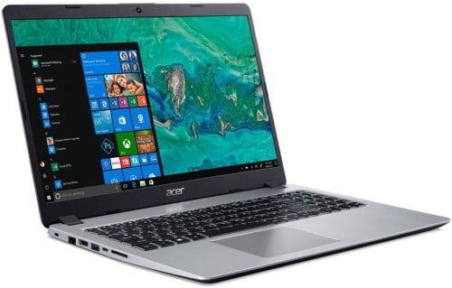 """O Notebook Acer Aspire 5 A515-52G-79H1 NX.HD9AL.005 possui processador Intel Core i7 (8565U) de 1.8 GHz a 4.6 GHz e 8MB cache, 8GB de memória RAM (DDR4 2400MHz - expansível até 32GB sendo 2 slots soDIMM), SSD de 128GB M.2 + HD de 1 TB (5.400 RPM), Tela LED HD de 15,6"""" antirreflexiva e resolução máxima de 1366 x 768, Placa de Vídeo integrada Intel UHD Graphics 620 e NVIDIA Geforce MX130 com 2GB de memória dedicada (GDDR5), Conexões USB e HDMI, Wi-Fi 802.11 b/g/n/ac, Webcam (720p), Não possui Drive de DVD, Bateria de 4 células (48Wh - 3220 mAh), Slot M.2 2280 compatível com SSD SATA III até 512 GB (slot ocupado pelo SSD), Peso aproximado de 1,8kg e Windows 10 64 bits."""