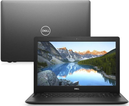"""O Notebook Dell Inspiron i15-3584-M10P possui processador Intel Core i3 (7020U) de 2.3 GHz e 3 MB cache, 4GB de memória RAM (DDR4 2666 MHz mas com velocidade máxima de 2666 MHz devido ao barramento do processador - expansível até 16GB em 2 slots total), HD de 1 TB (5.400 RPM), Tela LED HD de 15,6"""" antirreflexiva com resolução máxima de 1366 x 768, Placa de Vídeo integrada Intel HD Graphics 620, Conexões USB e HDMI, Wi-Fi 802.11 b/g/n/ac, Não possui Drive de DVD, Bateria de 3 células(42Wh), Peso aproximado de 2,01kg e Sistema Operacional Windows 10 64 bits."""