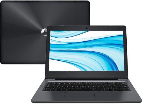 """O Notebook Positivo Stilo XCI8660 possui processador Intel Core i5 (6200U) de 2.3 GHz a 2.8 GHz e 3MB cache, 4GB de memória RAM (DDR3 - expansível até 8GB), HD de 1TB (5.400 RPM), Tela LED HD de 14"""" com resolução máxima de 1366 x 768, Placa de Vídeo integrada Intel HD Graphics 520, Conexões USB e HDMI, Wi-Fi 802.11 b/g/n/ac, Não possui Drive de DVD, Bateria de 2 células (3000mAh), Peso aproximado de 1,66kg e Windows 10 64 bits."""