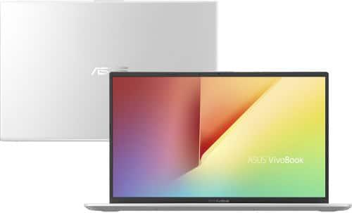 """O Notebook Asus VivoBook 15 X512FA-BR567T possui processador Intel Core i5 (8265U) de 1.6 GHz a 3.9 GHz e 6MB cache, 4GB de memória RAM (DDR4 2400 MHz- 0 GB Onboard + 4 GB Offboard sendo expansível ate 16GB), HD de 1 TB (5.400 RPM), Tela LED HD de 15,6"""" antirreflexiva e resolução máxima de 1366 x 768, Placa de Vídeo integrada Intel UHD Graphics 620, Conexões USB e HDMI, Wi-Fi 802.11 b/g/n/ac, Webcam (VGA), Não possui Drive de DVD, Bateria de 2 células (32 Wh - 3300 mAh), Peso aproximado de 1,75kg e Windows 10 64 bits."""