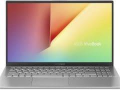 """O Notebook Asus VivoBook 15 X512FA-BR569T possui processador Intel Core i5 (8265U) de 1.6 GHz a 3.9 GHz e 6MB cache, 8GB de memória RAM (DDR4 2400 MHz- 0 GB Onboard + 8 GB Offboard sendo expansível ate 16GB), HD de 1 TB (5.400 RPM), Tela LED HD de 15,6"""" antirreflexiva e resolução máxima de 1366 x 768, Placa de Vídeo integrada Intel UHD Graphics 620, Conexões USB e HDMI, Wi-Fi 802.11 b/g/n/ac, Webcam (VGA), Não possui Drive de DVD, Bateria de 2 células (32 Wh - 3300 mAh), Peso aproximado de 1,75kg e Windows 10 64 bits."""