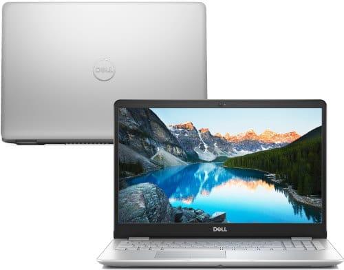 """O Notebook Dell Inspiron i15-5584-M50S possui processador Intel Core i7 (8565U) de 1.8 GHz a 4.6 GHz e 8MB cache, 8GB de memória RAM (DDR4 2666MHz - velocidade máxima de 2400MHz devido ao barramento do processador), 2 TB de HD, 16GB de memória Intel Optane para otimização, Tela IPS Full HD de 15,6"""" antirreflexiva com bordas finas e resolução máxima de 1920 x 1080, Placa de Vídeo integrada Intel UHD Graphics 620 e e NVIDIA Geforce MX130 com 2GB de memória dedicada (GDDR5), Conexões USB e HDMI, Wi-Fi 802.11 b/g/n/ac, Webcam (720p), Não possui Drive de DVD, Bateria de 4 células (52Wh), Peso aproximado de 1,95kg e Windows 10 de 64 bits."""