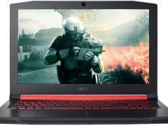 """O Notebook Gamer Acer Aspire Nitro 5 AN515-51-78D6 NH.Q32AL.002 possui processador Intel Core i7 (7700HQ) de 2.8 GHz a 3.8 GHz e 6 MB cache Quad Core, 16GB de memória RAM (DDR4 SDRAM - expansível até 32 GB de até 2666MHz), 1 TB (5.400 RPM) e possui slot de expansão M.2 2280, Tela IPS FULL HD de 15,6"""" antirreflexiva e com resolução máxima de 1920 x 1080, Placa de Vídeo integrada Intel HD Graphics 630 e NVIDIA Geforce GTX 1050Ti com 4GB de memória dedicada (GDDR5), Conexões USB e HDMI, Wi-Fi 802.11 b/g/n/ac, Webcam HD, não possui Drive de DVD, Bateria de 4 células (48Wh - 3220 mAh), Teclado Retroiluminado em luz vermelha padrão ABNT com destaque nas teclas W, A, S, D e teclado numérico dedicado, Peso aproximado de 2,74kg e Windows 10 de 64 bits."""