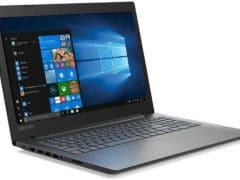 """O Notebook Lenovo B330 81M10004BR possui processador Intel Core i5 (8250U) de 1.6 GHz a 3.4 GHz e 6MB cache, 4GB de memória RAM (DDR4 2133 MHz - 4GB soldada sendo expansível até 12GB), HD de 1 TB (5.400 RPM), Tela LED Full HD de 15,6"""" atinrreflexiva e resolução máxima de 1920 x 1080, Placa de Vídeo integrada Intel UHD Graphics 620, Conexões USB e HDMI, Wi-Fi 802.11 b/g/n/ac, Webcam (HD 720p), Não possui Drive de DVD, Bateria de 2 células (30Wh), Peso aproximado de 2,2kg e Windows 10 64 bits."""