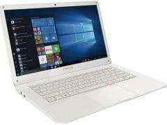 """Conheça o Notebook Positivo Motion White Q432A com processador Intel Atom Quad-Core (Z8300) de 1.44 GHz a 1.84 GHz e 2 MB cache, 4GB de memória RAM (on-board), SSD de 32GB, Tela LED HD de 14"""" com resolução máxima de 1366 X 768, Placa de Vídeo integrada Intel HD Graphics, Conexões USB e HDMI, Wi-Fi 802.11 b/g/n, Não possui Drive de DVD, Bateria de 38 Wh(10.000mAh), Peso aproximado de 1,43kg e Sistema Operacional Windows 10 64 bits."""