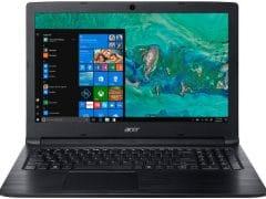 """O Notebook Acer Aspire 3 A315-53-55DD possui processador Intel Core i5 (7200U) de 2.5 GHz a 3.1 GHz e 3MB cache, 4GB de memória RAM (DDR4 - 4 GB soldados - expansível até 12GB sendo 1 slot total), HD de 1 TB (5.400 RPM), Tela LED HD de 15,6"""" antirreflexiva com resolução máxima de 1366 x 768, Placa de Vídeo integrada Intel HD Graphics 620, Conexões USB e HDMI, Wi-Fi 802.11 b/g/n/ac, Não possui Drive de DVD, Bateria de 3 células (37Wh - 4810mAh), Peso aproximado de 2,1kg e Windows 10 64 bits."""