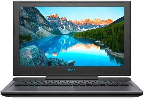 """O Notebook Gamer Dell G7-7588-A20P possui processador Intel Core i7 (8750H) de 2.2 GHz a 4.1 GHz e 9MB cache, 8GB de memória RAM (DDR4 2666 MHz - expansível até 32GB), HD de 1 TB (5.400 RPM) + SSD 128GB, Tela IPS Full HD de 15,6"""" Antirreflexo e resolução máxima de 1920 x 1080, Placa de Vídeo integrada Intel UHD Graphics 630 e NVIDIA Geforce GTX 1050Ti com 4GB de memória dedicada (GDDR5), Conexões USB e HDMI, Wi-Fi 802.11 b/g/n/ac (trabalha na frequencia 2.4 GHz e 5 GHz), Webcam (720p), Não possui Drive de DVD, Bateria de 4 células (56 Wh), teclado retroiluminado, Peso aproximado de 2,6kg e Windows 10 64 bits."""