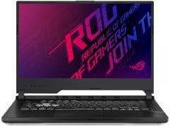 """O Notebook Asus ROG Strix G G531GT-AL253T possui processador Intel Core i7 (9750H 9ª Geração) de 2.6 GHz a 4.5 GHz e 12MB cache, 16GB de memória RAM (DDR4 2666 MHz - 0 GB Onboard + 16 GB Offboard), SSD de 512GB (M.2 NVMe PCIe), Tela IPS Full HD de 15,6"""" antirreflexiva e resolução máxima de 1920 x 1080, Placa de Vídeo integrada Intel UHD Graphics 630 e NVIDIA Geforce GTX 1650 com 4GB de memória dedicada (GDDR5), Conexões USB e HDMI, Wi-Fi 802.11 b/g/n/ac, Webcam, Não possui Drive de DVD, Bateria de 3 células (48 Wh - 4480 mAh), Peso aproximado de 2,4kg e Windows 10 64 bits."""