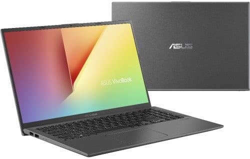 """O Notebook Asus Vivobook X512FJ-EJ227T possui processador Intel Core i7 (8565U) de 1.8 GHz a 4.6 GHz e 8MB cache, 8GB de memória RAM (DDR4 2400 MHz- 0 GB Onboard + 8 GB Offboard sendo expansível ate 16GB), HD de 1 TB (5.400 RPM), Tela LED Full HD de 15,6"""" NanoEdge e resolução máxima de 1920 x 1080, Placa de Vídeo integrada Intel UHD Graphics 620 e NVIDIA Geforce MX230 com 2GB de memória dedicada (GDDR5), Conexões USB e HDMI, Wi-Fi 802.11 b/g/n/ac, Webcam (HD), Não possui Drive de DVD, Bateria de 3 células (2600 mAh), Peso aproximado de 1,75kg e Windows 10 64 bits."""